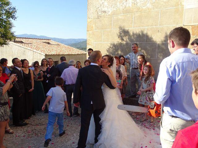 La boda de Jesús  y Miriam en Villanueva De La Sierra, Cáceres 14
