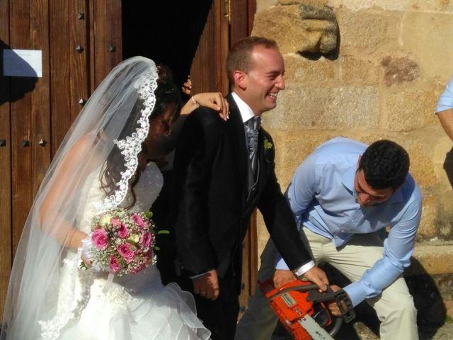 La boda de Jesús  y Miriam en Villanueva De La Sierra, Cáceres 22