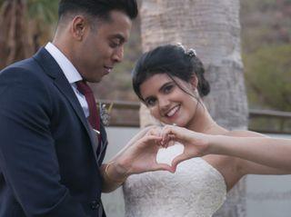 La boda de Isabel y Avinash