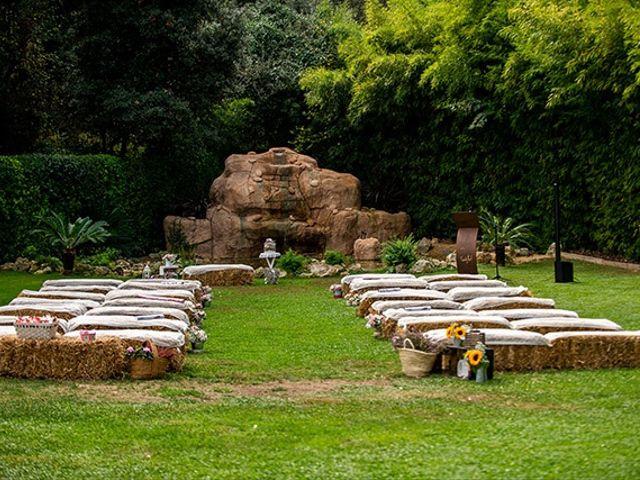 La boda de Jesús y Inés en Sant Fost De Campsentelles, Barcelona 18