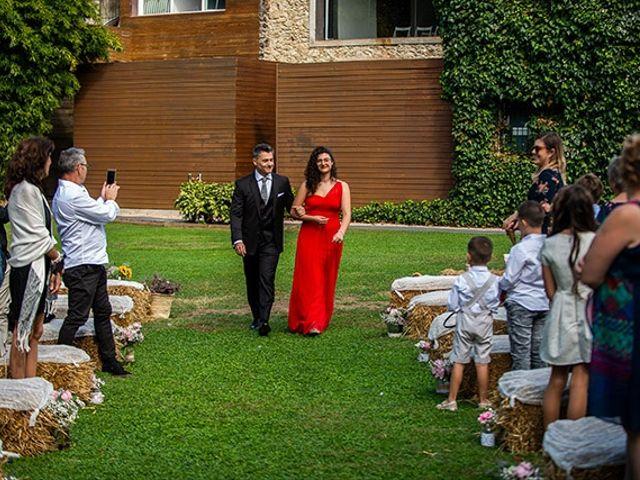 La boda de Jesús y Inés en Sant Fost De Campsentelles, Barcelona 23