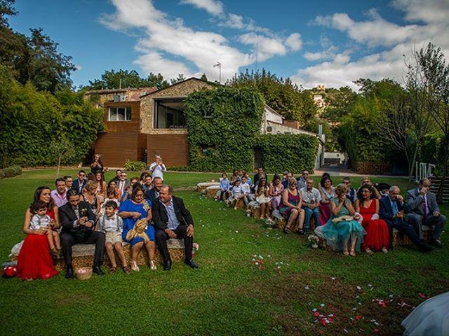 La boda de Jesús y Inés en Sant Fost De Campsentelles, Barcelona 29