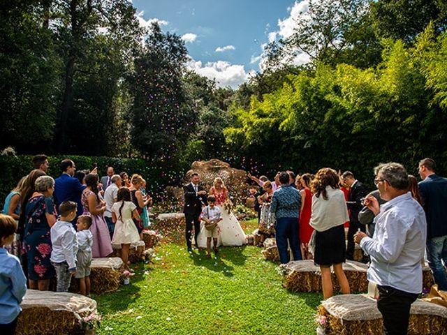La boda de Jesús y Inés en Sant Fost De Campsentelles, Barcelona 37