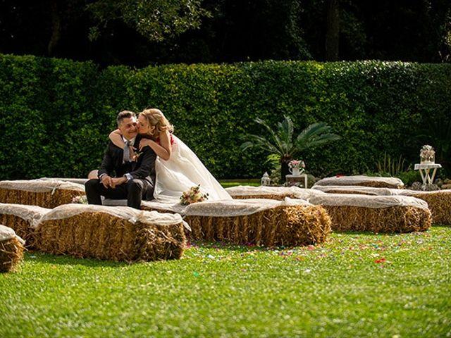 La boda de Jesús y Inés en Sant Fost De Campsentelles, Barcelona 40