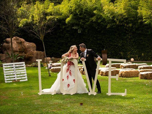 La boda de Jesús y Inés en Sant Fost De Campsentelles, Barcelona 41