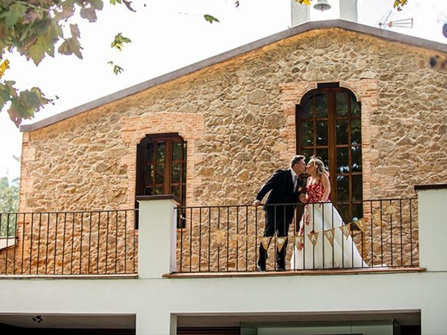 La boda de Jesús y Inés en Sant Fost De Campsentelles, Barcelona 47