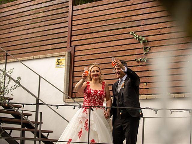 La boda de Jesús y Inés en Sant Fost De Campsentelles, Barcelona 48