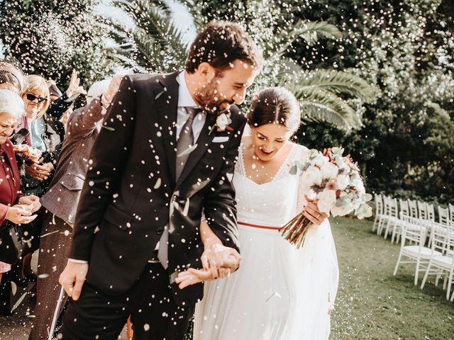 La boda de Vicente y Judith