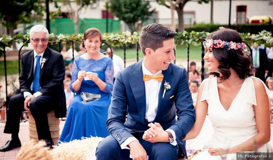 La boda de Jonnathan y Azucena en Mota Del Cuervo, Cuenca