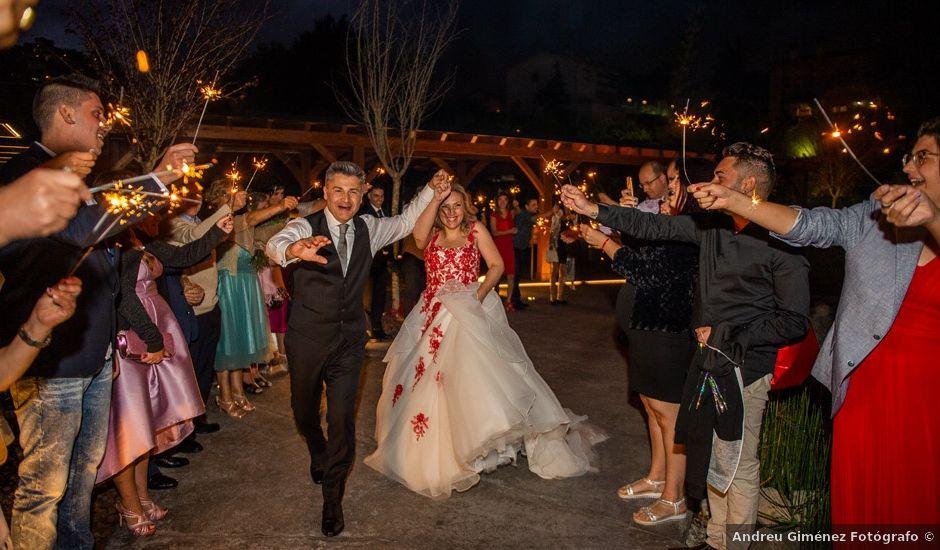 La boda de Jesús y Inés en Sant Fost De Campsentelles, Barcelona