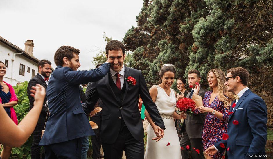 La boda de Javier y Jimena en Suances, Cantabria