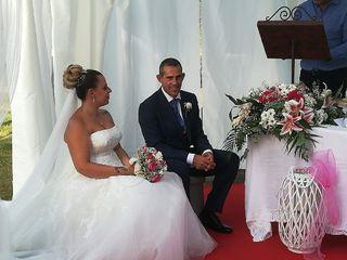 La boda de Henar y Tino