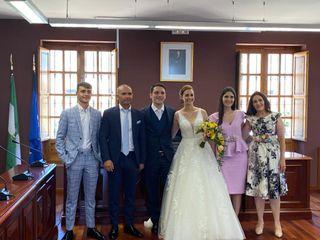 La boda de Maria del Mar y Santiago