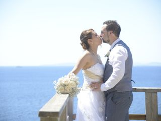 La boda de Milena y James