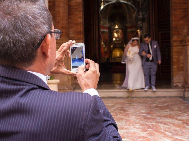 La boda de David y Andrea en Málaga, Málaga 11