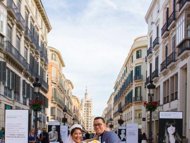 La boda de David y Andrea en Málaga, Málaga 15