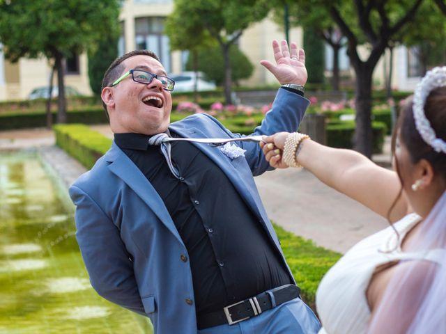 La boda de David y Andrea en Málaga, Málaga 18