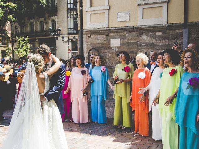 La boda de Abraham y Patricia en Villanueva De Gallego, Zaragoza 12