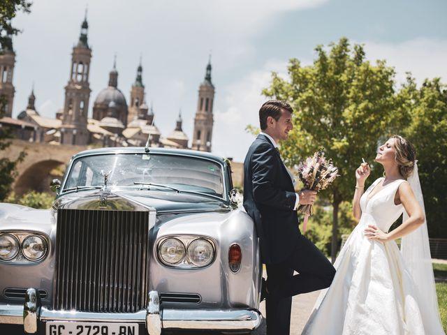 La boda de Abraham y Patricia en Villanueva De Gallego, Zaragoza 15