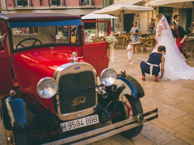 La boda de Fabio y Nerea en Alacant/alicante, Alicante 1