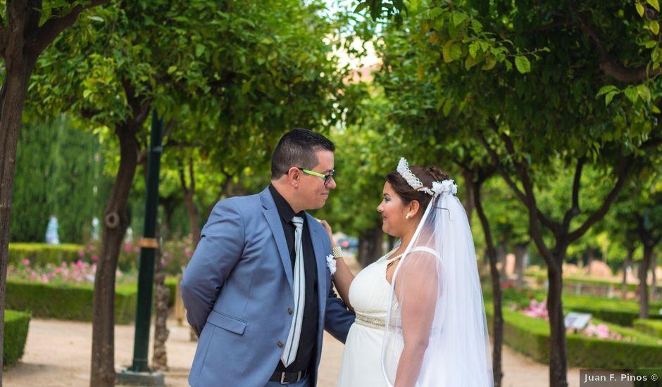 La boda de David y Andrea en Málaga, Málaga