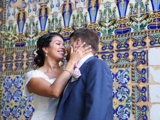 La boda de Ghiselle y Marc