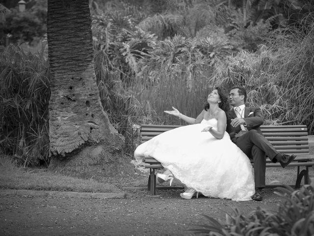 La boda de Antonio y Amparo en San Cristóbal de La Laguna, Santa Cruz de Tenerife 2