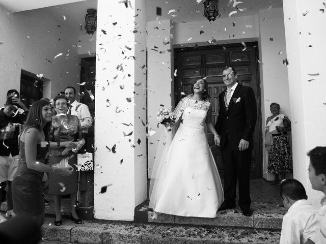La boda de Alberto y Andrea en San Clemente, Cuenca 27