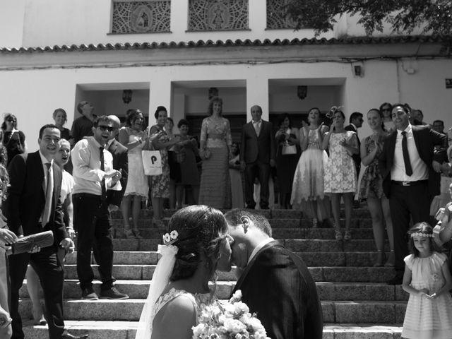 La boda de Alberto y Andrea en San Clemente, Cuenca 1