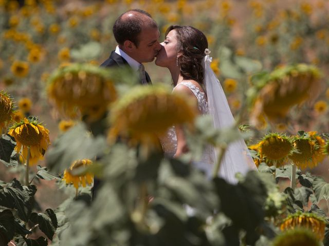 La boda de Alberto y Andrea en San Clemente, Cuenca 30