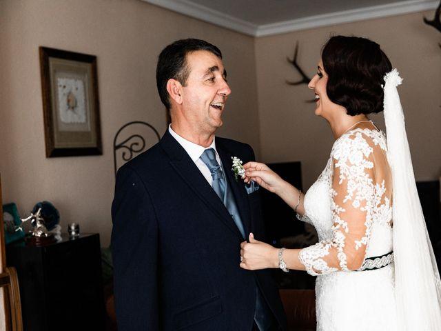 La boda de Francisco y Natalia en Bienvenida, Badajoz 22