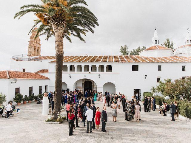 La boda de Francisco y Natalia en Bienvenida, Badajoz 43