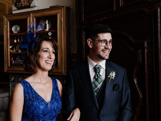 La boda de Francisco y Natalia en Bienvenida, Badajoz 46