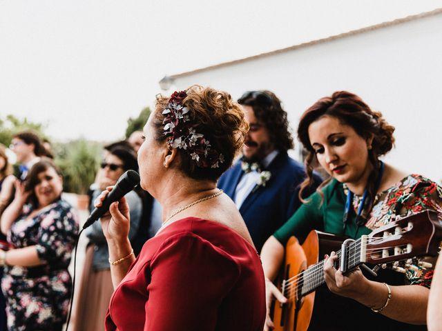 La boda de Francisco y Natalia en Bienvenida, Badajoz 49