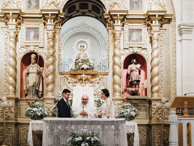La boda de Francisco y Natalia en Bienvenida, Badajoz 54
