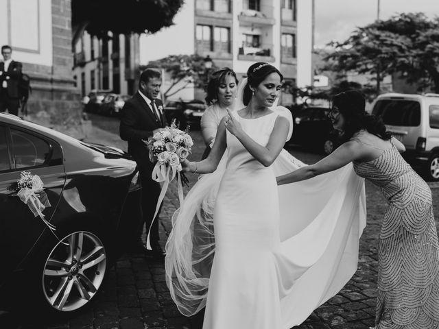 La boda de Rayco y Celeste en Santa Maria De Guia, Las Palmas 1