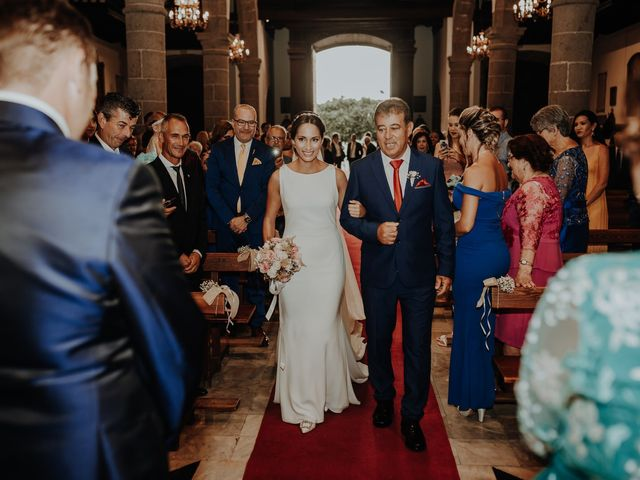 La boda de Rayco y Celeste en Santa Maria De Guia, Las Palmas 4