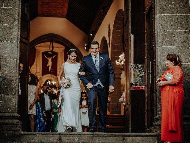 La boda de Rayco y Celeste en Santa Maria De Guia, Las Palmas 9