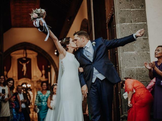 La boda de Rayco y Celeste en Santa Maria De Guia, Las Palmas 10