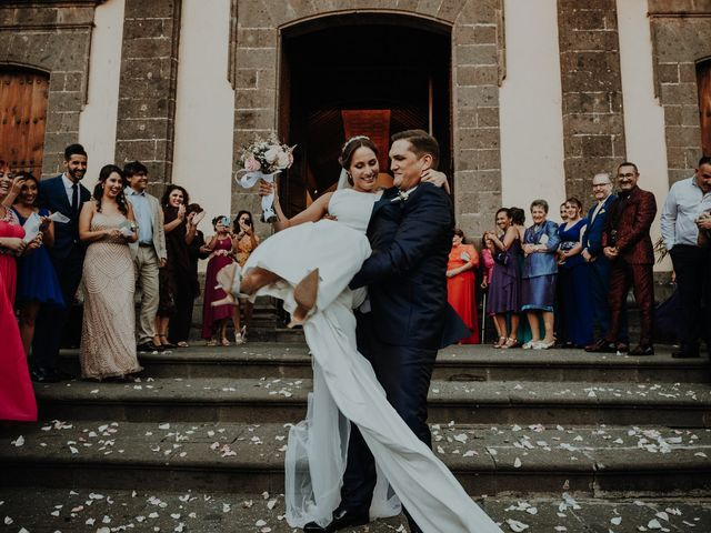 La boda de Rayco y Celeste en Santa Maria De Guia, Las Palmas 11
