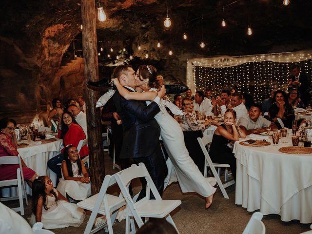 La boda de Rayco y Celeste en Santa Maria De Guia, Las Palmas 41