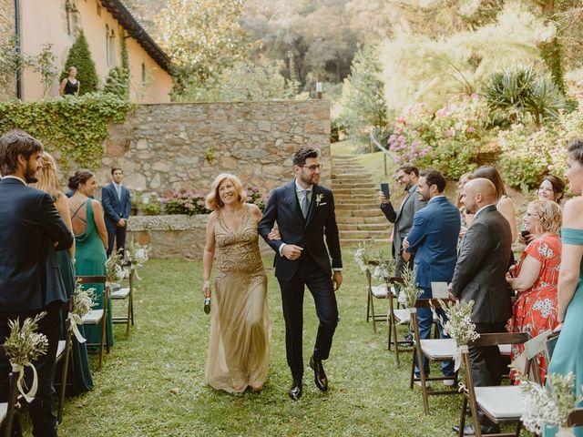 La boda de Josh y Carmina en Arbucies, Girona 19