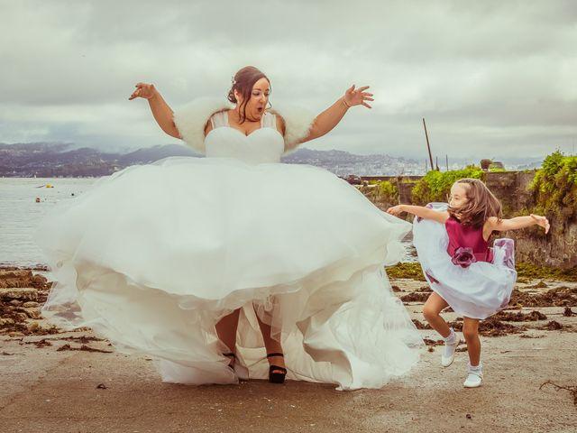 La boda de Victor y Ana en Abegondo, A Coruña 18