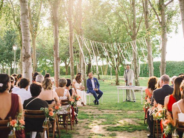 La boda de Pau y Elena en Bellvis, Lleida 22