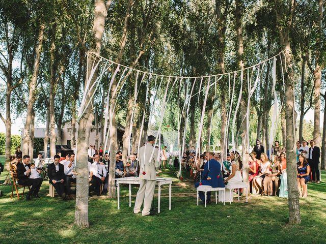 La boda de Pau y Elena en Bellvis, Lleida 24