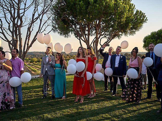 La boda de Alberto y Rocío en La Torre De Esteban Hambran, Toledo 41