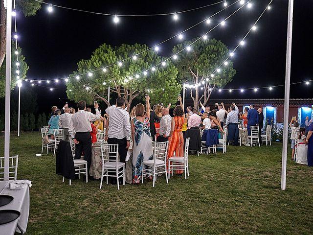 La boda de Alberto y Rocío en La Torre De Esteban Hambran, Toledo 50