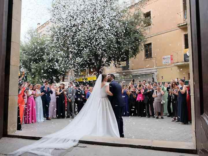 La boda de Elisabet y Omar