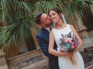 La boda de Hugo y Almudena