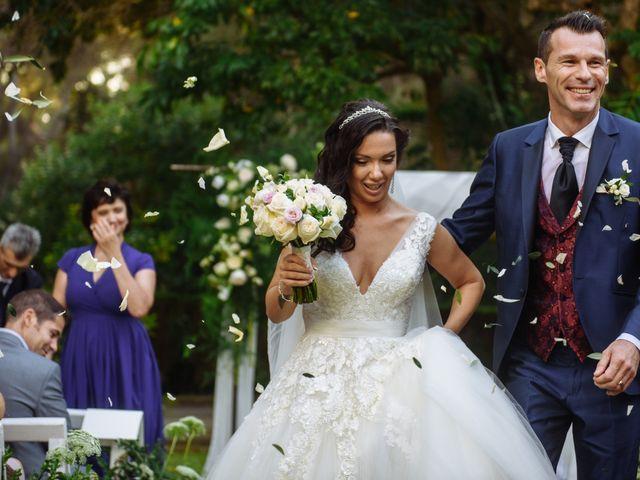 La boda de Oksana y Cyril
